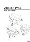 Compact Drills Operators Manual- Brochure