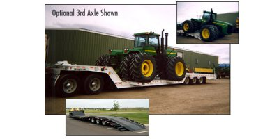 TRAIL-EZE - Model TE70HTWS - Wideside Machinery Trailer