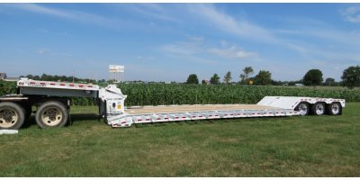 Model 50 Ton - Detachable Wideside Gooseneck Trailer