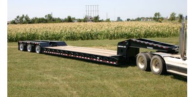 Model 50 Ton - 55 Ton - Detachable Gooseneck Trailer
