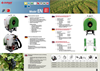 Model 100, 200 AND 300 L. - Tank Volume Mounted Sprayer Brochure