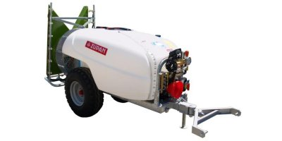 ECOLOGIC - Model 600, 800, 1000, 1500 AND 2000 L. - Tank Volume Trailed Sprayer
