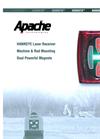 Apache - Versatile Laser Receiver for Machine and Grade Rod Mounting - Brochure