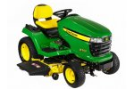 John Deere - Model X500 Series - Multi-Terrain Tractor Mowers