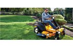 Cub Cadet RZT - Model S Series - Four-Wheel Steer Zero-Turn Riders