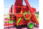 Threshing Machine with Storage