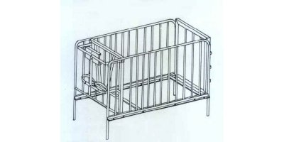 Elevated Calf Stalls