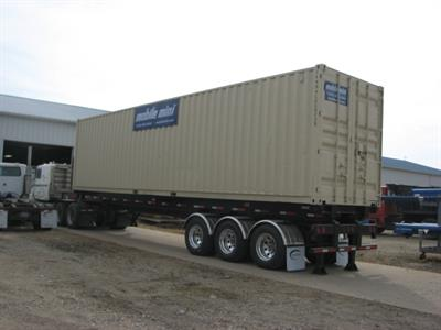 Container Tilt Bed Semi-Trailer-0