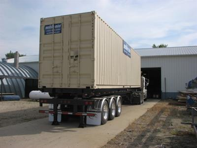 Container Tilt Bed Semi-Trailer-1