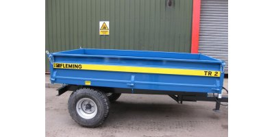 New Fleming - Model TR2 - 2 Ton Tipping Trailer