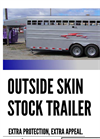TravAlong - Outside Skin Gooseneck Stock Trailer - Brochure