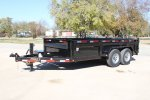 Maxey - Model DL: 83 14K Low-Pro - Bumperpull Dump Trailers