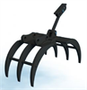 Model 1.5-8 Ton - Manual Mechanical Excavator Grapple