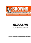 Buzzard - Bale Grab - Brochure