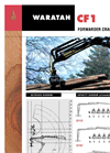 Waratah - Model CF1 - Forwarder Cranes Brochure
