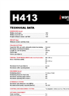 Waratah - Model H413 - Harvester Head - Brochure