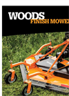 Woods - Model PRD 6000 - Rear Mount Finish Mowers Brochure