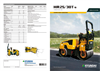 Hyundai - Model HR25T-9 - Compaction Rollers - Brochure