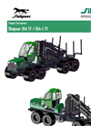 Sleipner – Model 814 TF / 814-L TF - Timber Forwarder Datasheet