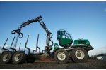 Sleipner - Model 814 TF - Timber Forwarder