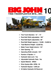 Model 100 - Truck Mounted Tree Transplanters Brochure