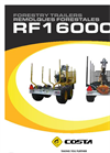 Reboque - Model RF16000X - Forestry Trailers Brochure