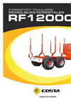 Reboque - Model RF12000X - Forestry Trailer Brochure