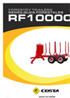 Reboque - Model RF10000X - Forestry Trailer Brochure