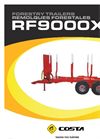 Reboque - Model RF9000X - Forestry Trailer Brochure
