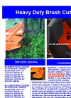 DL-66 - Heavy-Duty Land Clearing Brush Cutter Brochure