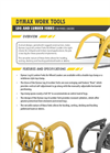 Log and Lumber Forks for Wheel Loaders Brochure