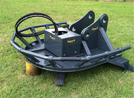 Brushmonster - Track Hoe Rotary Cutter Attachments