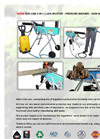 HIDRA ECO-LINE 3 IN 1 Log Splitter – Pressure Washer – Saw Workbench Brochure