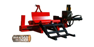 Woodline HorizontalLine - Model WL 16 - Floor Mounted Professional Log Splitter PTO