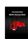 XM-100 Powerhouse Chainsaw Winch Manual