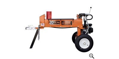 Model PCLS2013GC  - 20 Ton Dual Split Horizontal Log Splitter