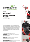 Earthquake - Model 99cc - Tiller Cultivator Brochure