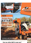 Push Pull Silt Fence Plow - Brochure