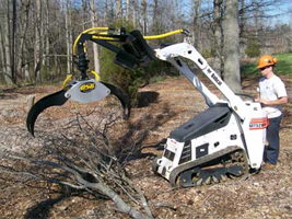 Model MINI - Compact Loader Grapple