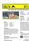 Model DT-120C - High-Performance Track-Mounted Cable Plow - Datasheet