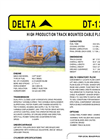 Model DT-130C - High-Performance Track-Mounted Cable Plow - Datasheet