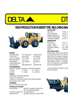 Delta - Model DT-530 - High-Production Rubber Tire Tree Mulching Machine - Datasheet