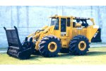 Delta - Model DT-530 - High-Production Rubber Tire Tree Mulching Machine