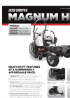 Magnum HP series. - Light Commercial Mower Brochure