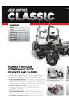 Classic - Zero Turn Mowers Brochure