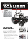 XCaliber - Zero Turn Mowers Brochure