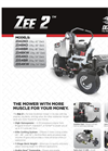 Zee - Model 2 - Zero Turn Mowers Brochure