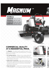 Magnum - Zero Turn Mowers Brochure