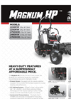 Magnum - Model HP - Light Commercial Mowers Brochure