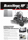 BlackHawk - Model HP - Light Commercial Mowers Brochure